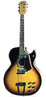 Coral Sunburst Acoustic-Electric Guitar