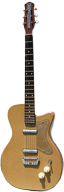 1957 Danelectro U2 with Ginger Leatherette Covering and Brown Sides